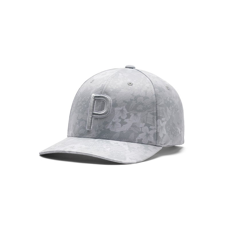 GREY 'P SNAPBACK CAP' - TOURNAMENT  - MEN / LIMITED EDTION