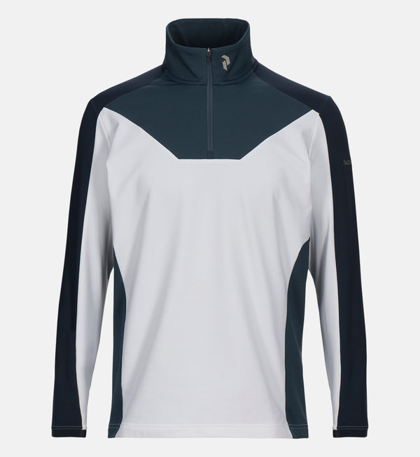 White 'ACE' Mid-Layer - MEN / OUTLET