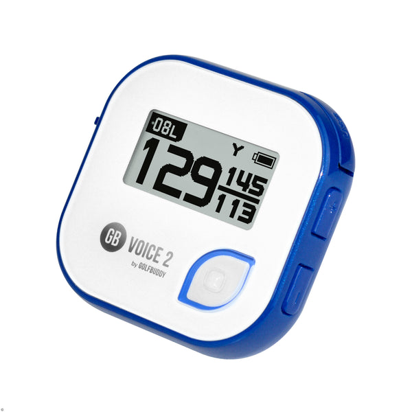 White/Blue 'GB VOICE2' Golf GPS - 2021