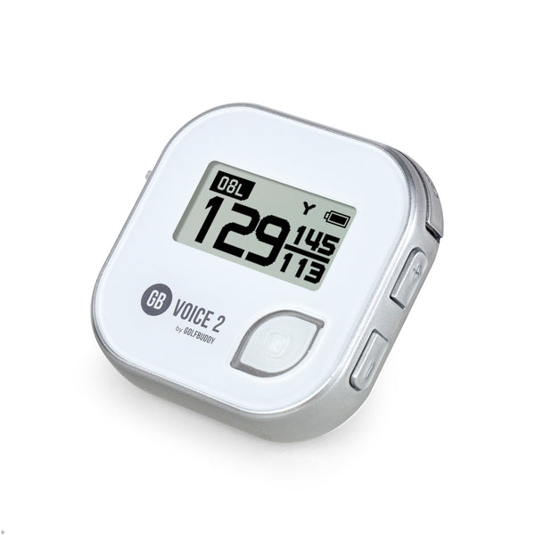 Silver Black 'GB VOICE2' Golf GPS - 2021