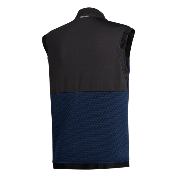 NAVY 'GOLF COLD RDY.' VEST - MEN / AW20