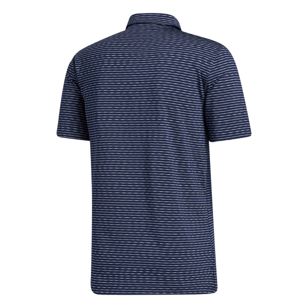 Navy 'ULTIMATE 365' SPACE DYE STRIPE POLO SHIRT - MEN / AW20