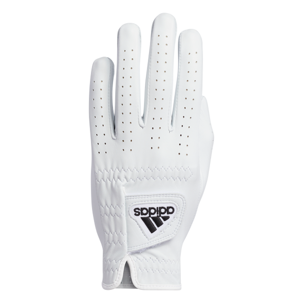 White 'Cabretta LEATHER' Golf Glove  - MEN