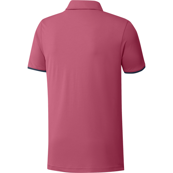 wild pink/ crew navy 'CORE' GOLF POLO - MEN
