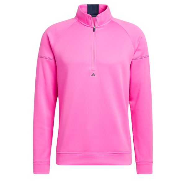 PINK 'EQUIPMENT' 1/4 ZIP GOLF SWEATSHIRT - MEN