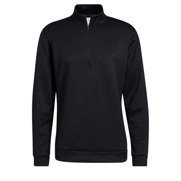 Black 'Quarter-Zip Sweatshirt'  SWEATSHIRT- Adicross / MEN