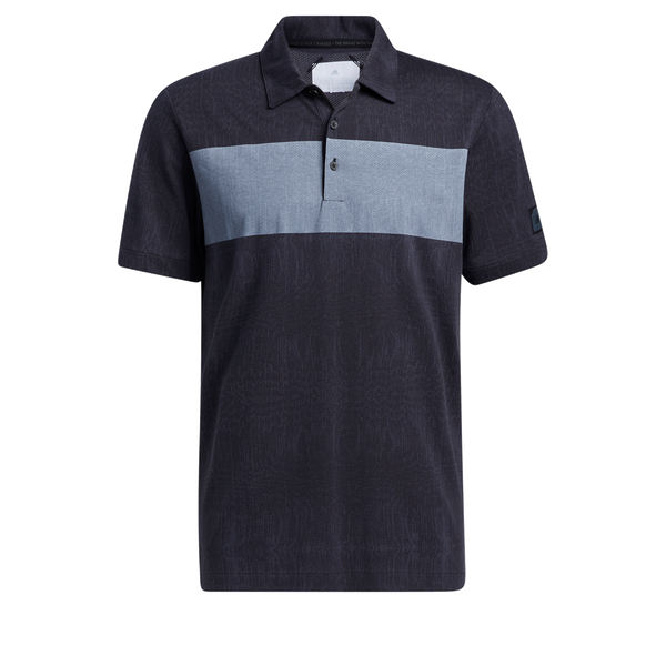 Navy 'Desert Print' Golf Polo Shirt - Adicross / MEN