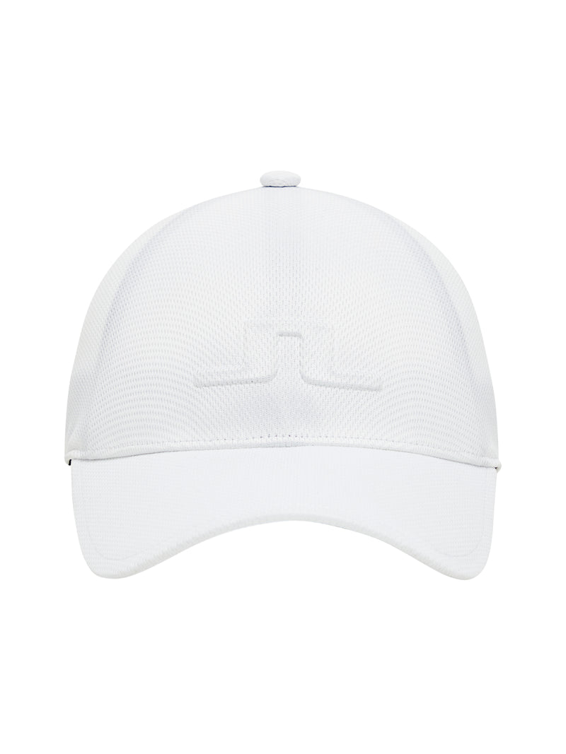 WHITE Hace Cap-One Touch Seamless GOLF CAP - MEN / SS20