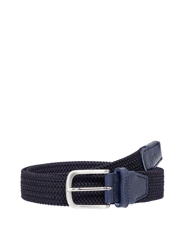 JL NAVY 'Bernhard' Braided Elastic Belt - MEN / SS20