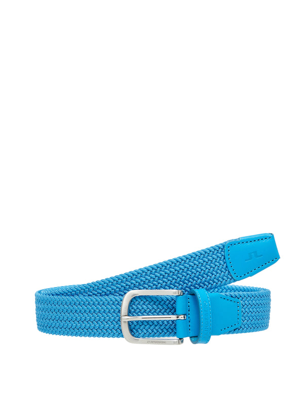 true blue 'Bernhard' Braided Elastic Belt - MEN / SS20