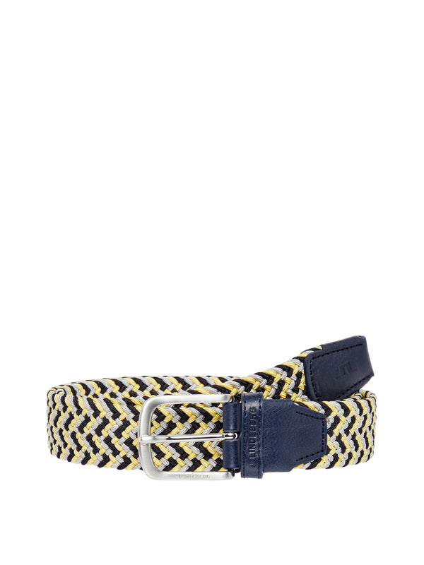 Still Yellow 'Bubba' Braided Elastic Belt - MEN / SS20