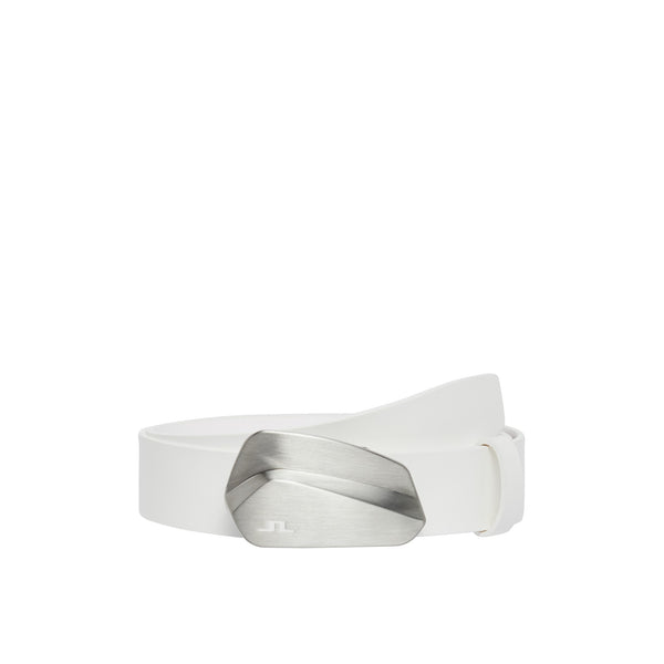 WHITE' Golf Club Belt' Leather - MEN / SS20