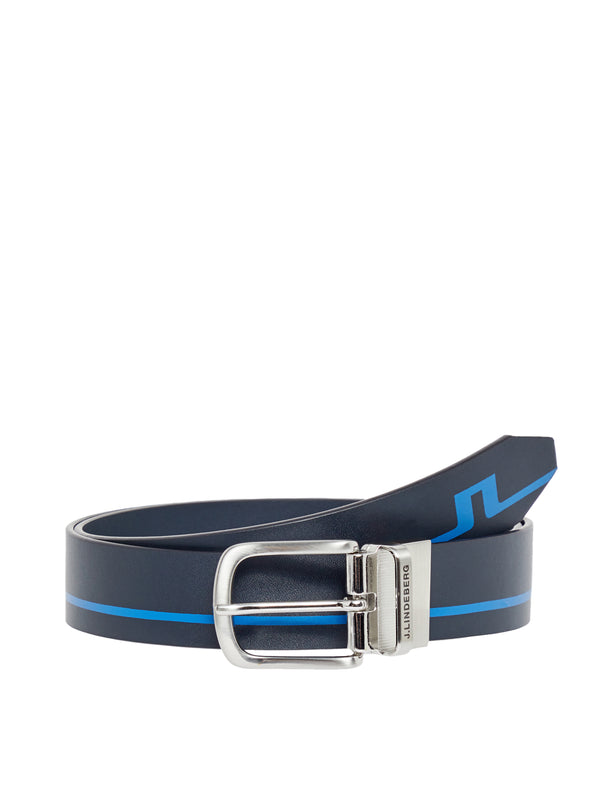 JL NAVY 'Justin' Crafted Leather belt - MEN / SS20