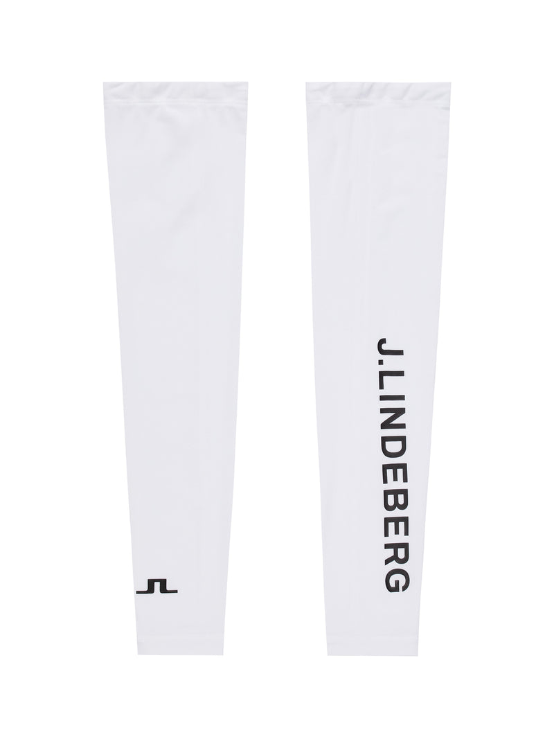 White 'Enzo' Golf Sleeve (UV-protection 30+) - MEN