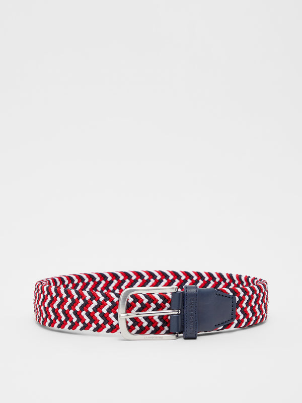 Red 'Bubba' Braided  Golf Belt - MEN / AW20