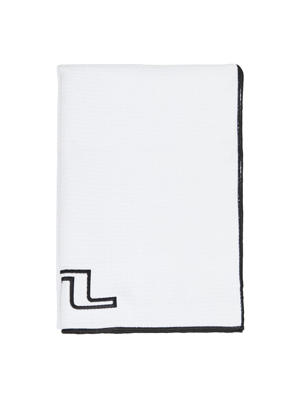 White Microfiber  'Golf Towel' - UNISEX / AW20