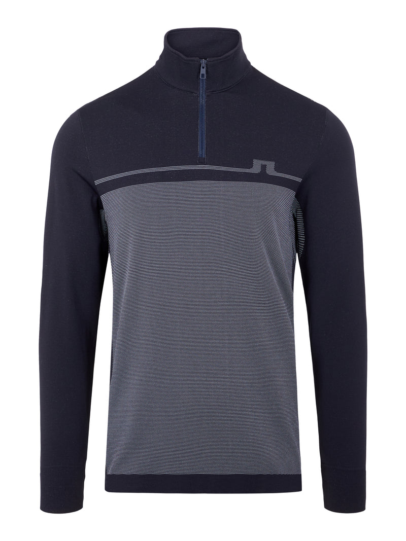 NAVY 'Jo' Seamless Golf Mid Layer  - MEN / AW20