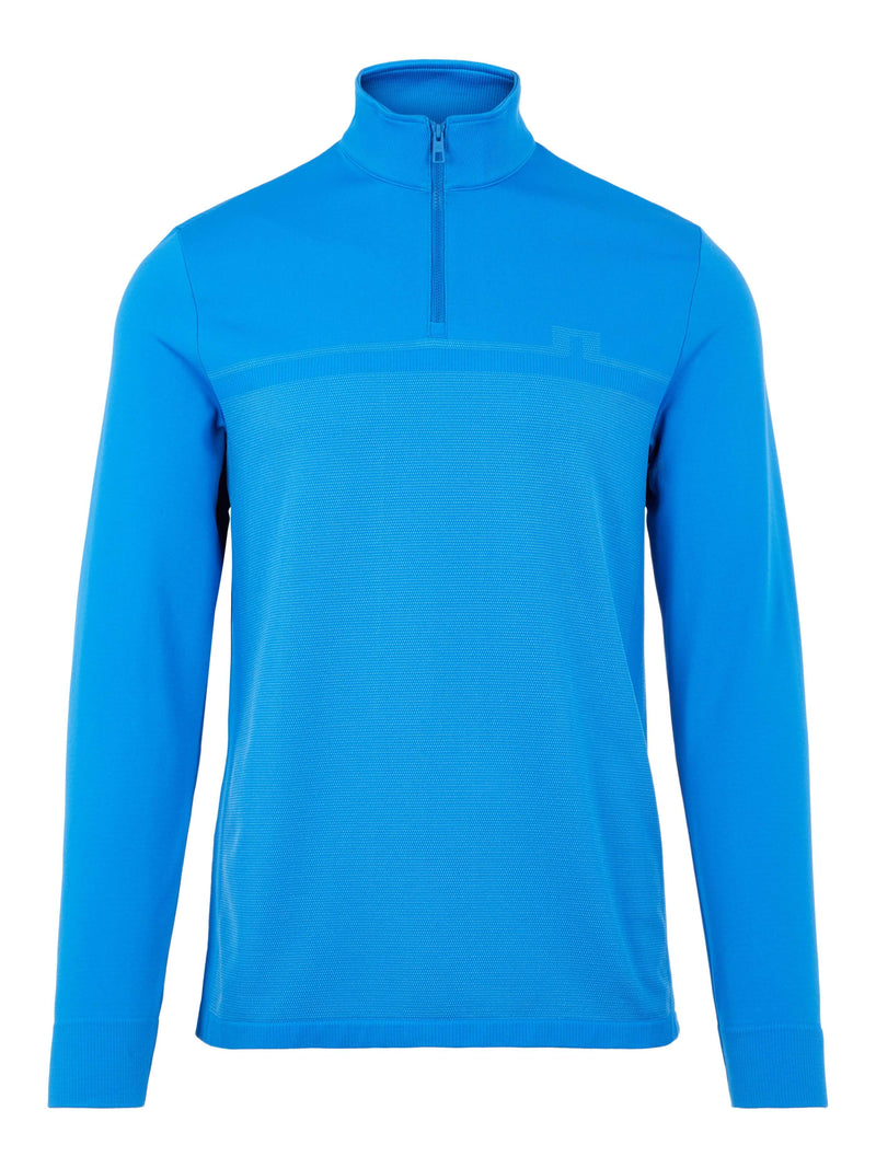 BLUE 'Jo' Seamless Golf Mid Layer  - MEN / AW20