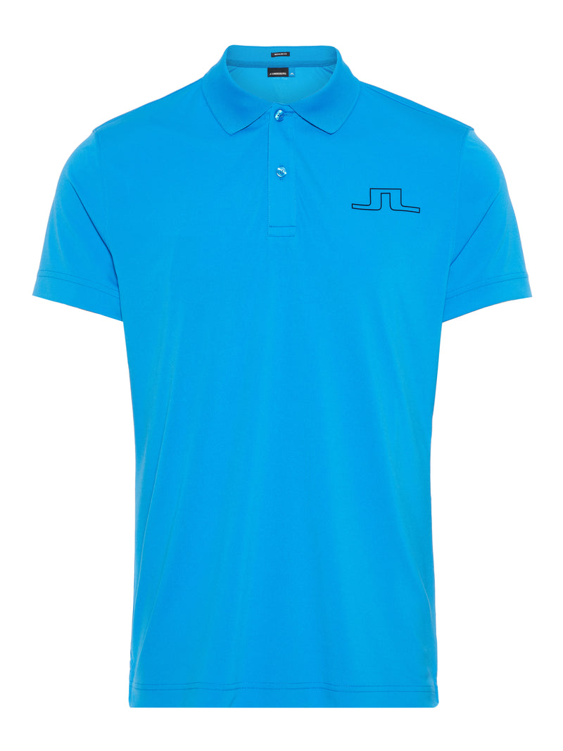 true blue 'Alan' TX Jersey golf polo shirt - MEN / SS20