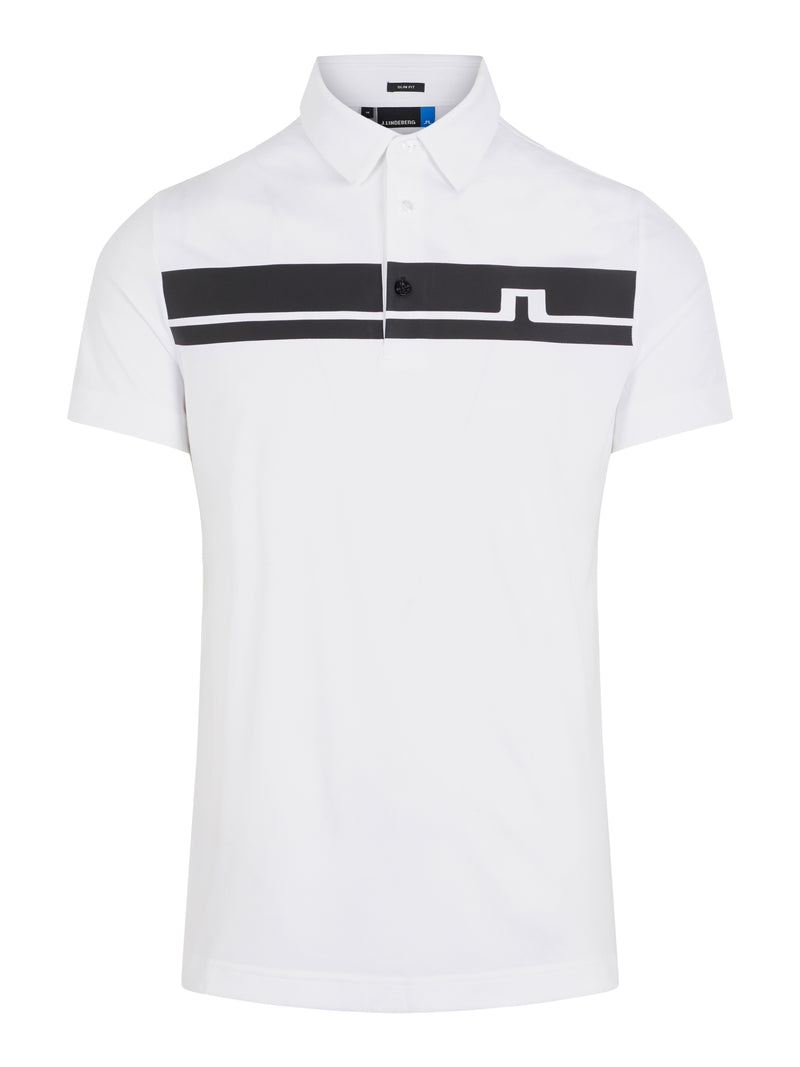 WHITE 'Clark' Golf Polo Shirt - MEN / SS20