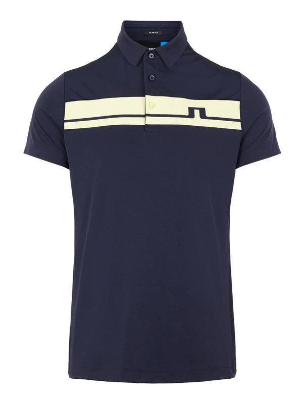 JL NAVY 'Clark' Golf Polo Shirt - MEN / SS20