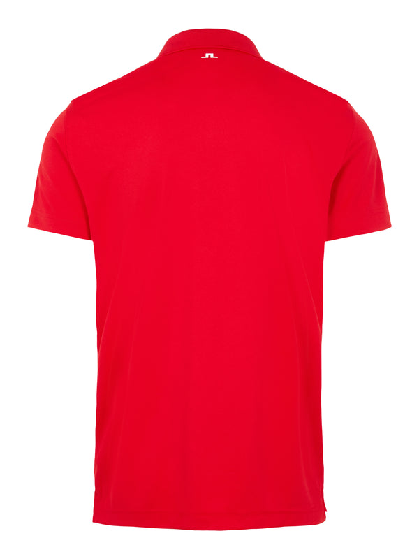 RED 'Bridge' Golf Polo Shirt - MEN / AW20