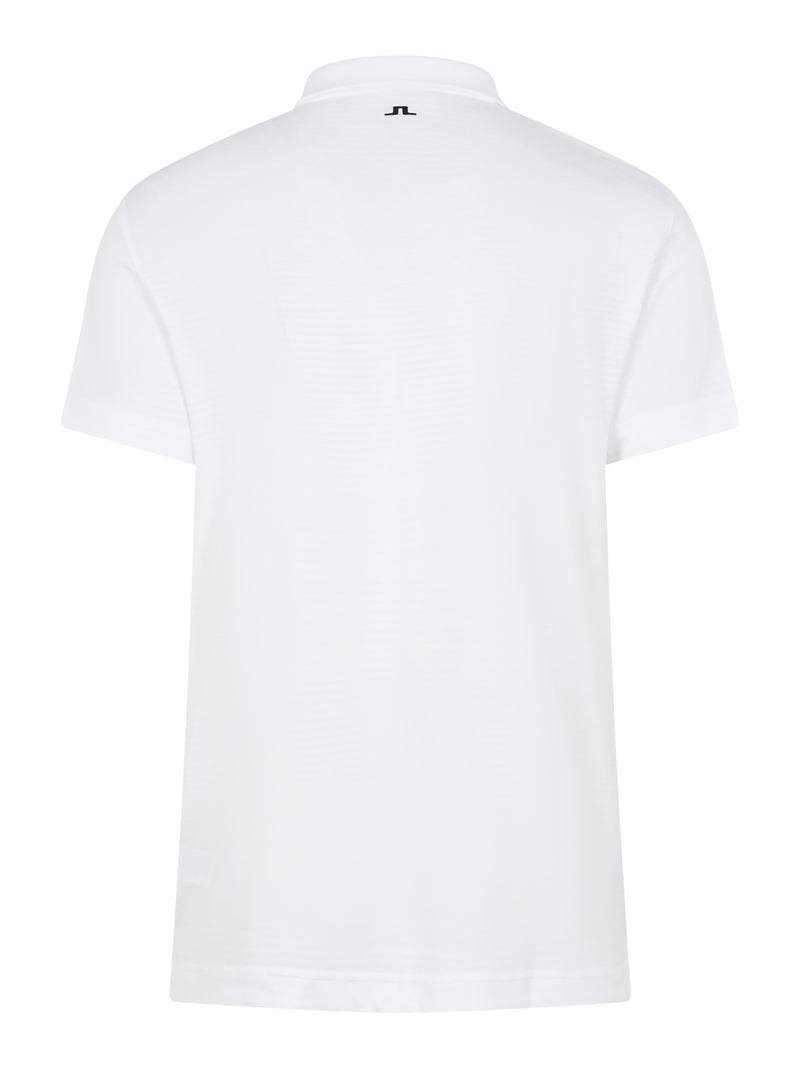 White 'Lars' Golf Polo Shirt - MEN / AW20
