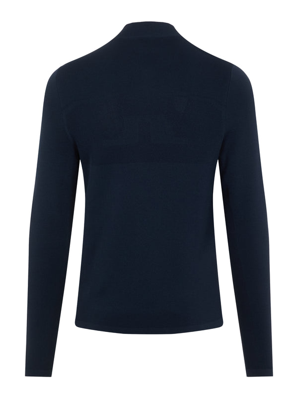 NAVY 'Bevin' Golf Sweater with ACTIVE MESH - MEN