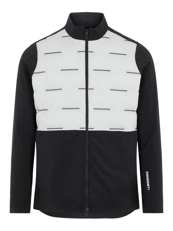 Grey 'Shield' Windproof Padded Golf Jacket - MEN / AW20