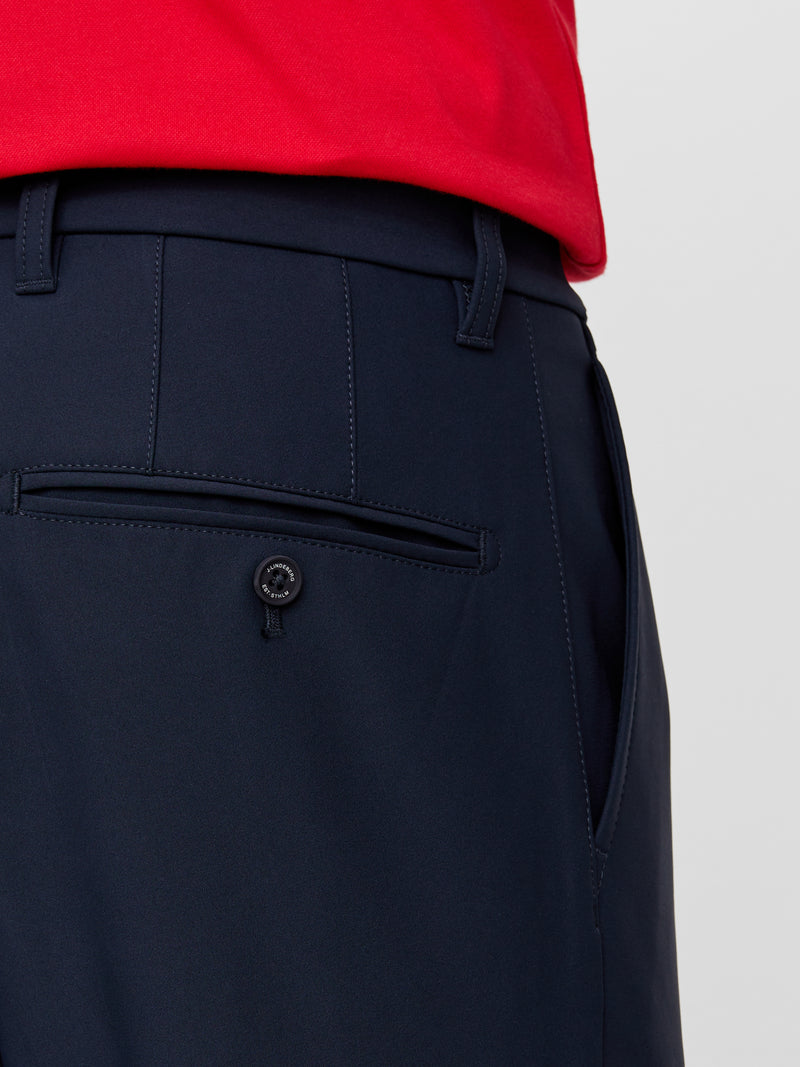 NAVY 'Ellott Bonded' Thermal/Winter Fleece Golf trouser - MEN / AW20