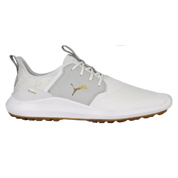 WHITE 'IGNITE NXT CRAFTED' GOLF SHOE - MEN / AW20