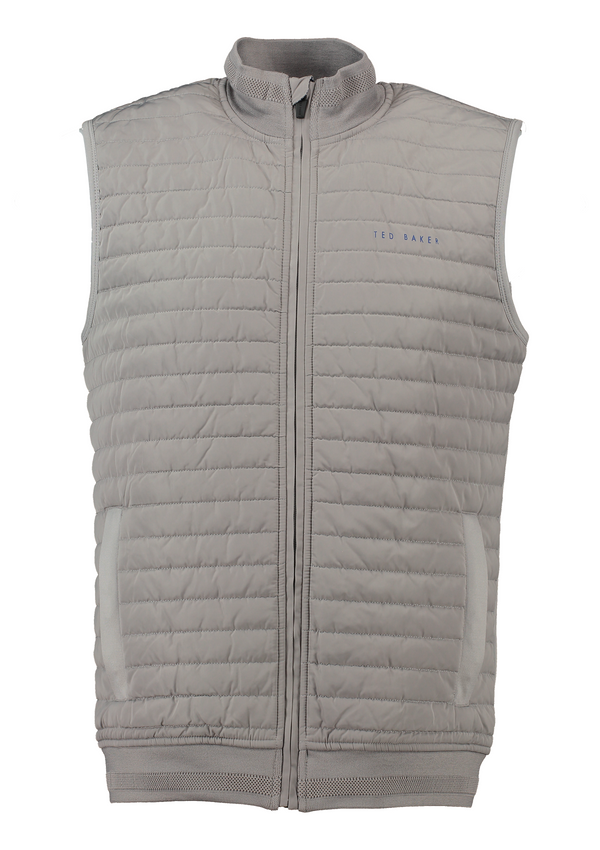GREY 'ALBANE' GOLF VEST - MEN / OUTLET