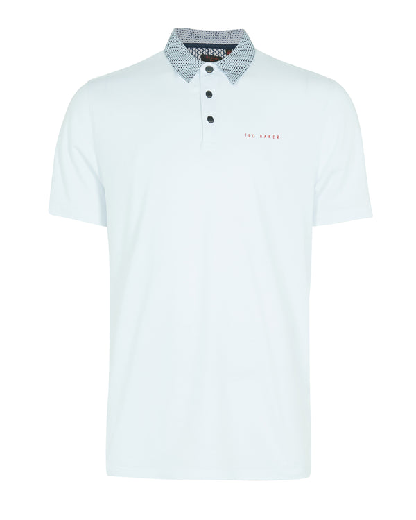 WHITE 'GRIP' golf polo shirt - MEN / SS20