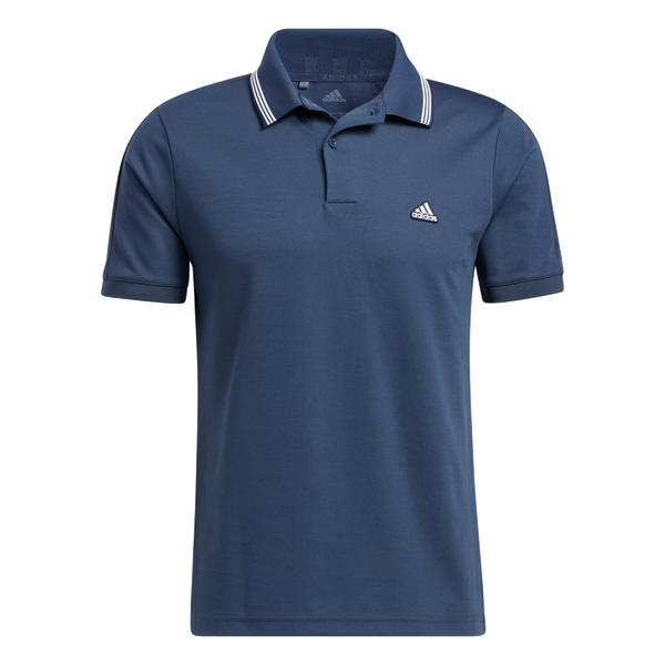 NAVY 'GO-TO PIQUE' GOLF POLO - MEN