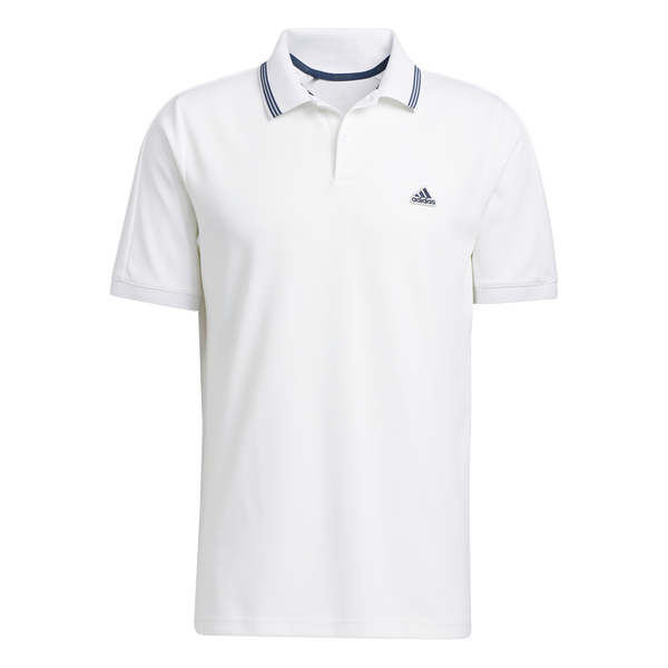 White 'GO-TO PIQUE' GOLF POLO - MEN