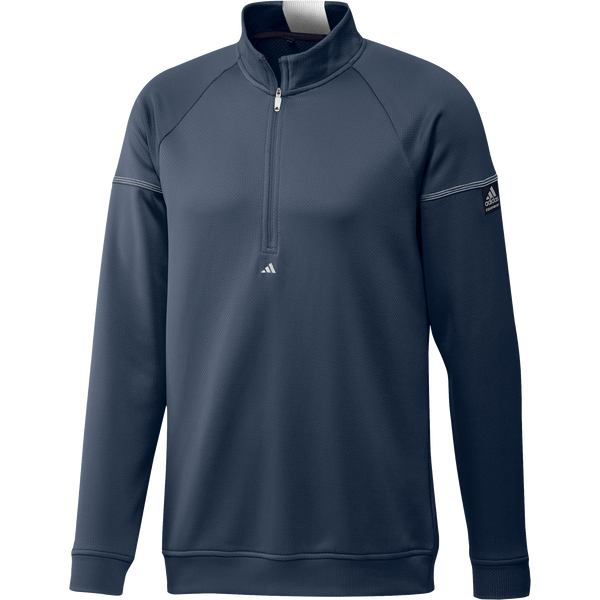 NAVY 'EQUIPMENT' 1/4 ZIP GOLF SWEATSHIRT - MEN