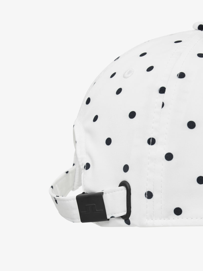 White 'Angie' Golf Cap - WOMEN / AW20