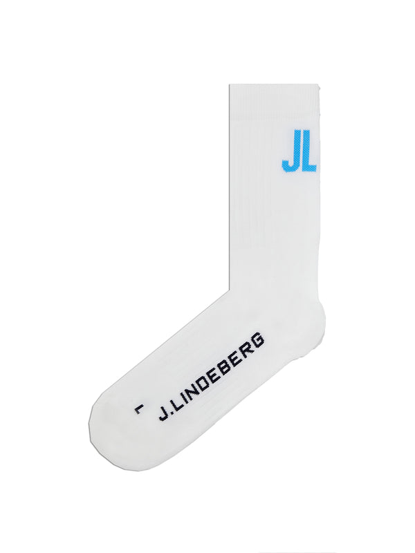 White 'Ronja' Golf Sock - WOMEN / AW20