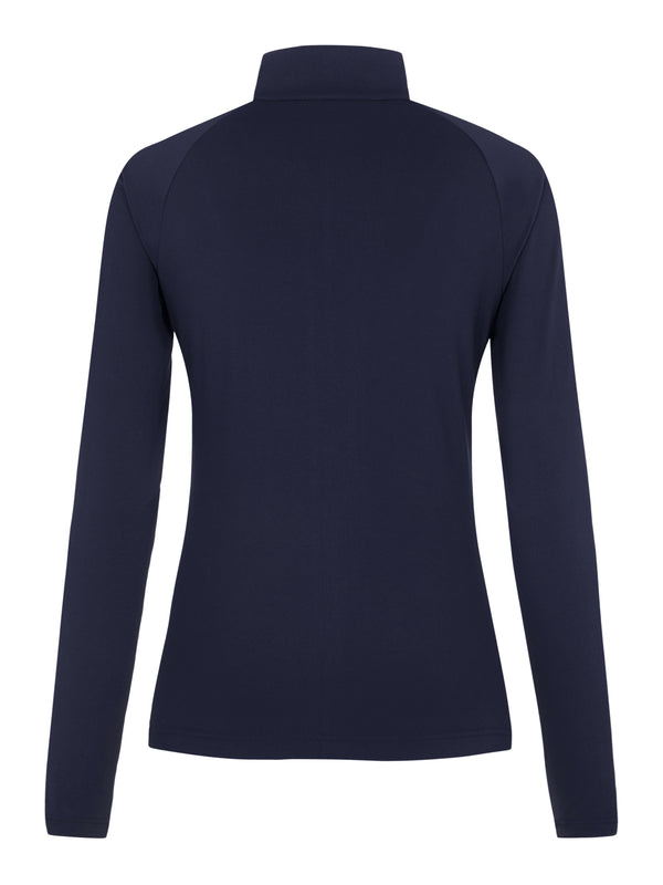 Navy 'Marie' Full Zip Golf Mid Layer - WOMEN / AW20