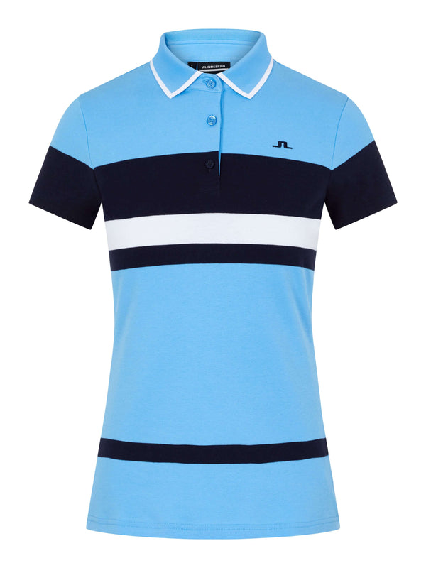 Blue 'Jade' Golf Polo Shirt - WOMEN / AW20