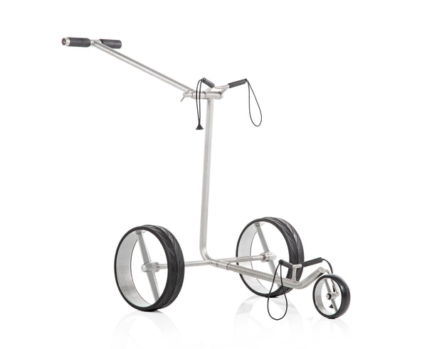 Silver 'Ghost' manual golf trolley - 2020