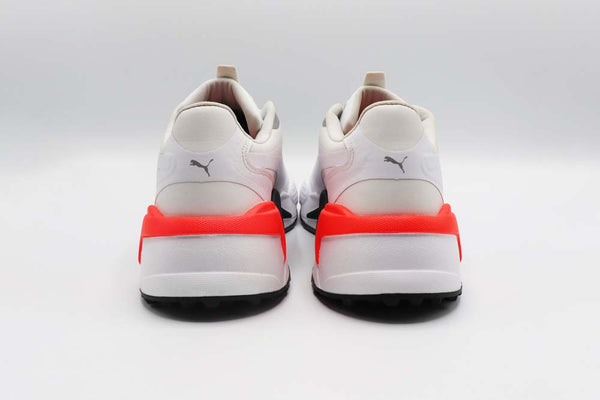 Puma White-Puma Black-Red Blast 'RS-G' GOLF SHOE - MEN