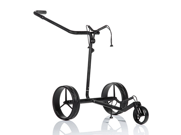 Lightweight 'Travel Nero SV 2.0' CARBON 3-wheel electric Golf Trolley - CUSTOM / BESPOKE
