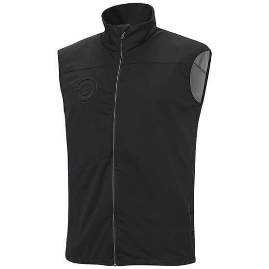 BLACK 'LAZER' golf Bodywarmer - MEN / SS20