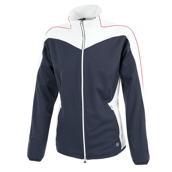 NAVY 'LESLIE' WINDPROOF GOLF JACKET - SS20 / WOMEN