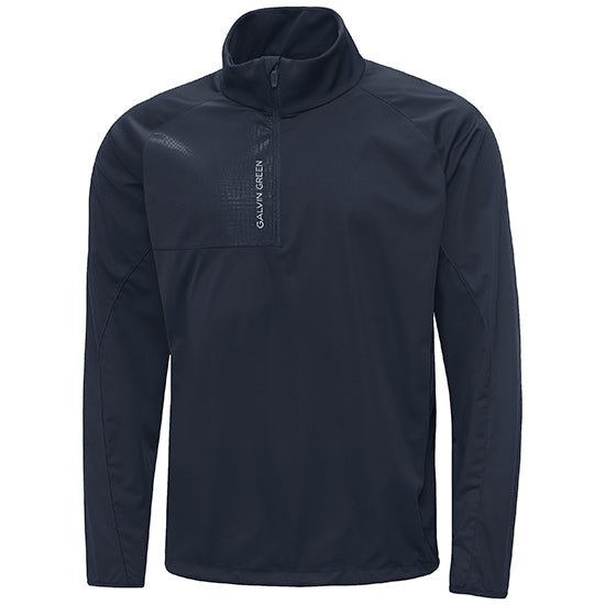 NAVY 'LINCOLN' WINDPROOF GOLF JACKET - MEN / OUTLET