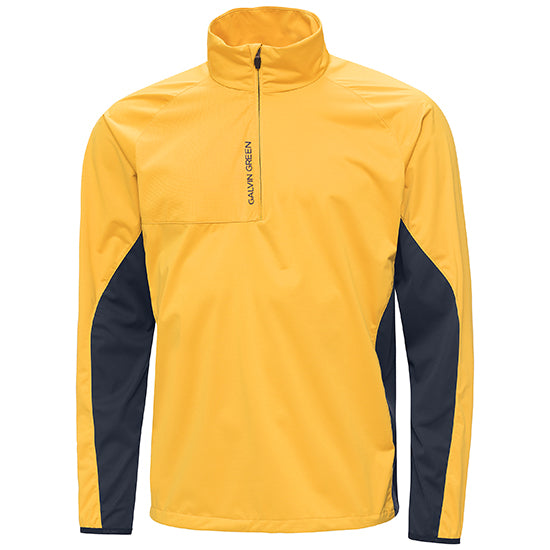 GOLD 'LINCOLN' WINDPROOF GOLF JACKET - MEN / OUTLET