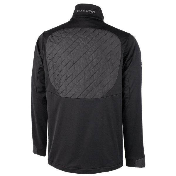 Black 'LINC' windproof Golf Jacket INTERFACE-1™ - MEN