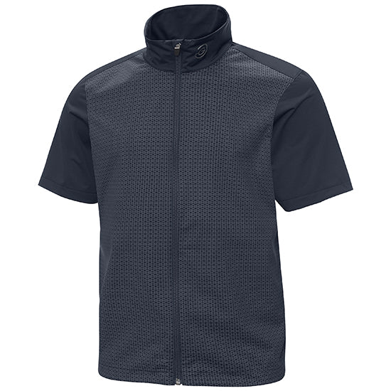 NAVY 'LINUS' GORE-TEX WATERPROOF GOLF JACKET - MEN / OUTLET