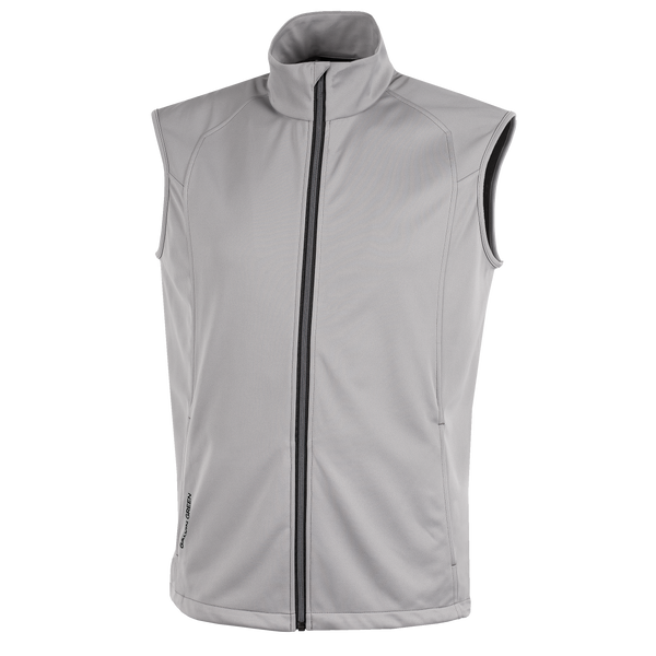 GREY 'LIONEL' GOLF VEST - MEN / AW20